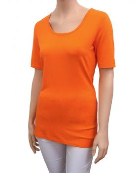 Damen Shirt, orange