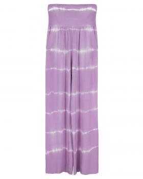 Batik Hose, flieder von fashion made in italy