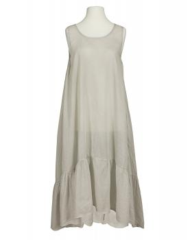 Baumwoll Kleid, beige