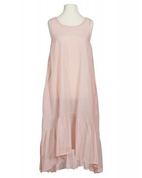 Baumwoll Kleid, rosa von Diana