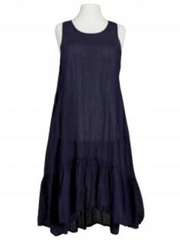 Baumwoll Kleid, blau (Bild 1)