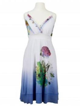 Baumwollkleid, multicolor (Bild 1)