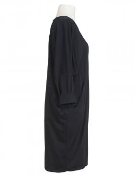 Baumwollkleid, schwarz