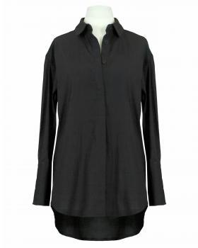 Bluse Baumwolle, schwarz von Moda Milano
