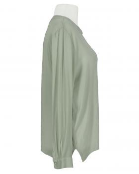 Bluse Crepe Georgette, khaki (Bild 2)