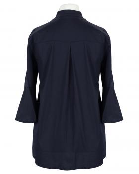 Bluse Stehkragen, dunkelblau (Bild 2)