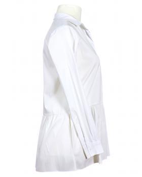 Bluse Tunika Stil, weiss (Bild 2)
