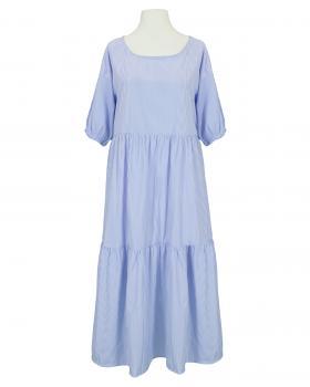 Blusenkleid A-Linie, blau (Bild 1)