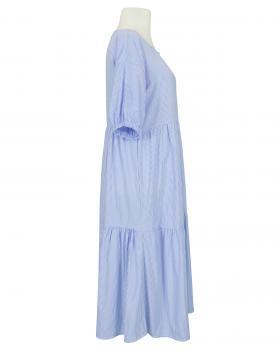 Blusenkleid A-Linie, blau (Bild 2)