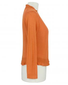 Bolero Viskosestrick, orange (Bild 2)