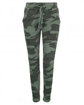 Camouflage Hose, grün von Melly & Co
