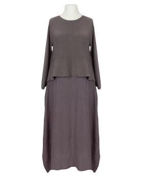 Chasuble Kleid, braun von Made in Italy