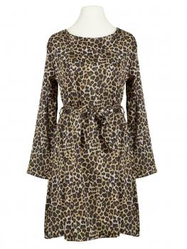 Chiffon Kleid Leopardenprint, multicolor (Bild 1)