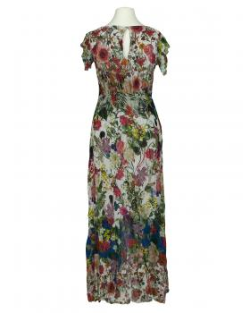 Chiffon Maxikleid Floral, multicolor von Selected Touch