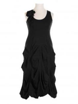 Empire Kleid Blüte, schwarz von Boris von Boris