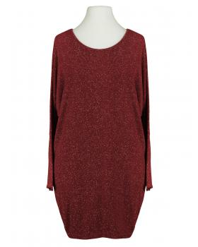 Long Shirt Lurex, bordeaux