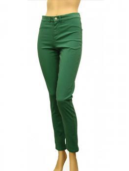 Hose Baumwoll Stretch, grün von RESTART von RESTART