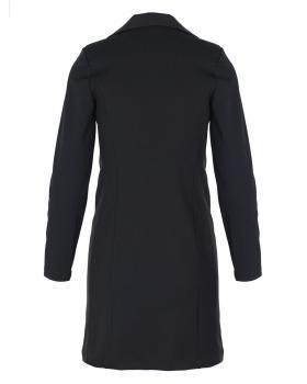 Jersey Blazer Mantel, schwarz (Bild 2)