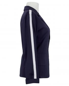 Jersey Blazer Streifen, blau (Bild 2)