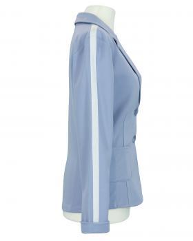 Jersey Blazer Streifen, hellblau (Bild 2)