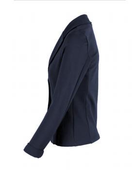 Jersey Blazer tailliert, blau (Bild 2)