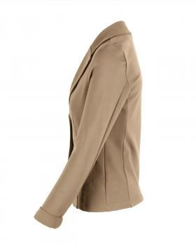 Jersey Blazer tailliert, camel (Bild 2)