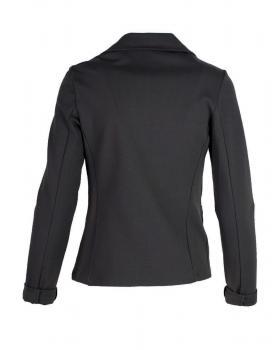 Jersey Blazer tailliert, schwarz (Bild 2)