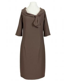 Jersey Kleid, braun von Pronto Moda (Bild 1)