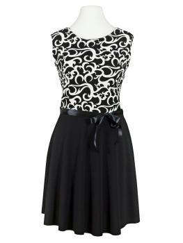 Jersey Kleid, schwarz