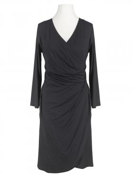 Jersey Kleid Langarm, schwarz