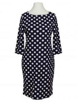 Jersey Kleid Punkte, blau von Made in Italy (Bild 1)