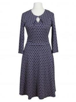 Jerseykleid, blau taupe (Bild 1)