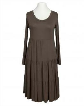 Jerseykleid, braun (Bild 1)