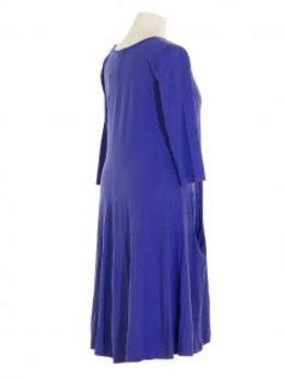 Jerseykleid, kobaltblau