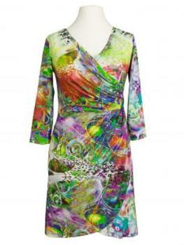 Jerseykleid, print grün