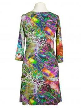Jerseykleid, print grün (Bild 2)