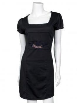Jerseykleid, schwarz von RESTART