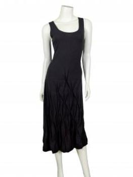 Jerseykleid in A-Form, schwarz