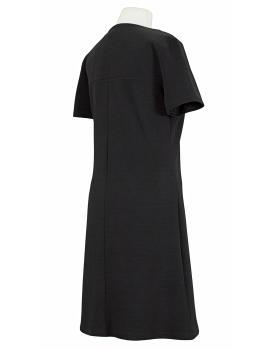Jerseykleid, schwarz (Bild 2)