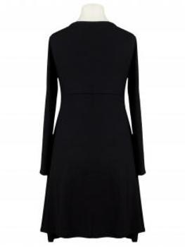 Jerseykleid A-Form, schwarz (Bild 2)