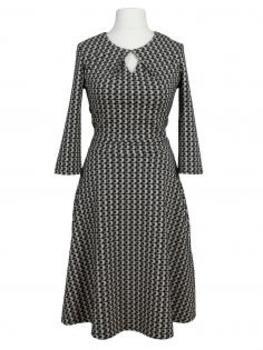 Jerseykleid, schwarz grau (Bild 1)