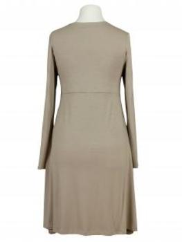 Jerseykleid A-Form, beige (Bild 2)