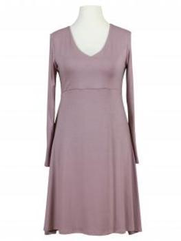 Jerseykleid A-Form, rosa