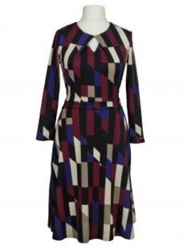Jerseykleid Grafik, multicolor