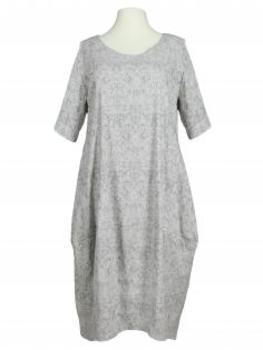 Jerseykleid Jaquard, grau (Bild 1)