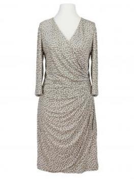 Jerseykleid mit Punkten, beige von Lady Lot Paris (Bild 1)