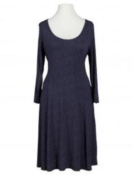 Jerseykleid mit Punkten, blau (Bild 1)