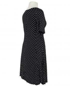 Jerseykleid mit Punkten, schwarz (Bild 2)
