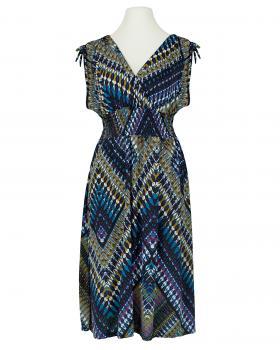 Jerseykleid Print, dunkelblau von Diana von Diana