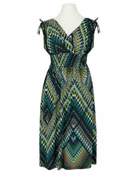 Jerseykleid Print, grün von Diana von Diana